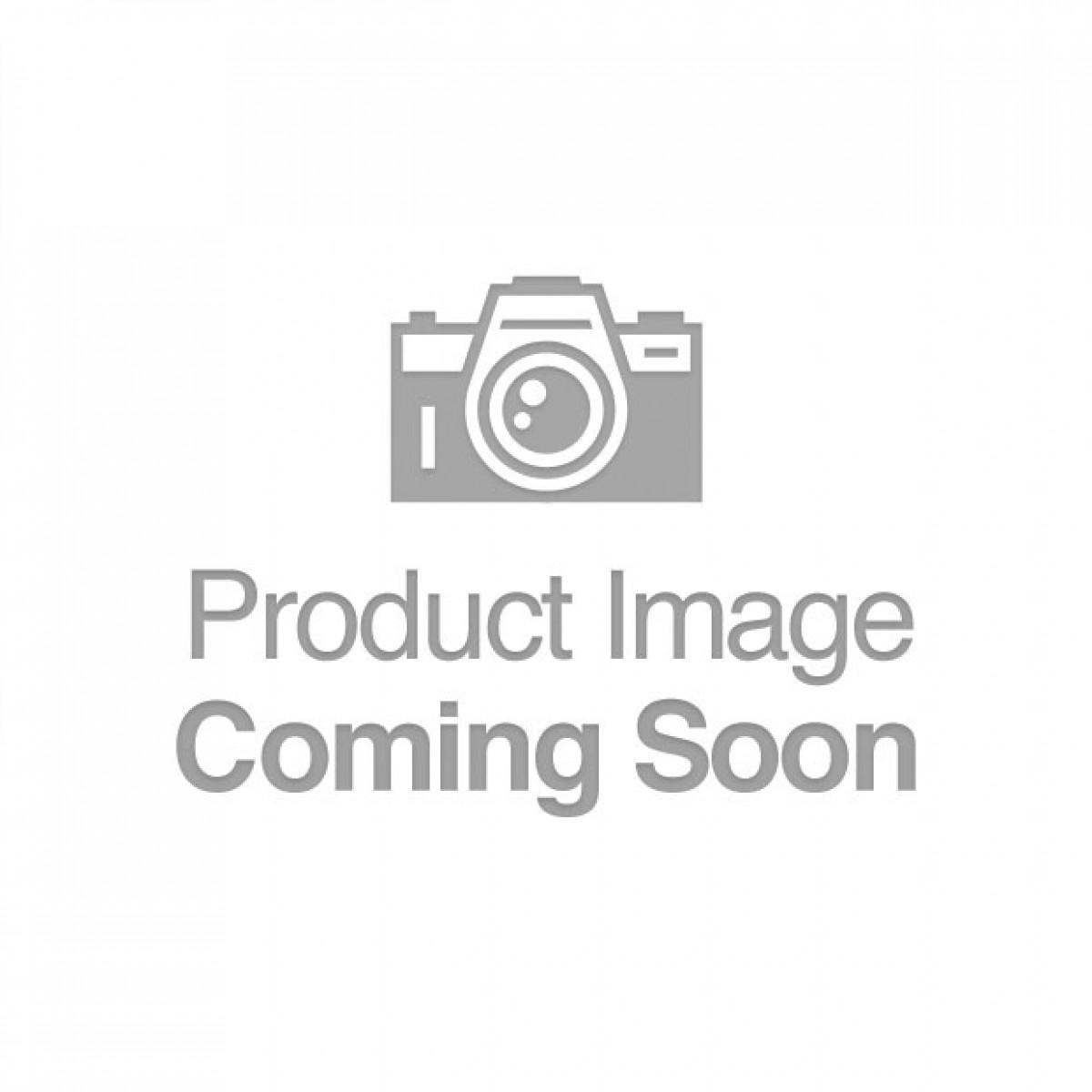 Adam & Eve Red Heart Gem Anal Plug - Medium Red/Chrome